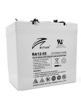 Батарея до ДБЖ Ritar AGM RA12-55, 12V-55Ah (RA12-55)