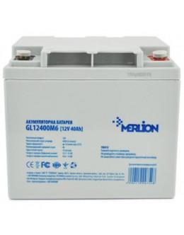 Батарея до ДБЖ Merlion 12V-40 Ah GEL (GL12400M6 GEL)