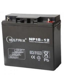 Батарея до ДБЖ Matrix 12V 18AH (NP18-12)