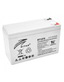 Батарея до ДБЖ Ritar AGM RT1272, 12V-7.2Ah (RT1272)