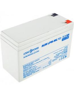 Батарея до ДБЖ LogicPower LPM MG 12В 7.2Ач (6553)