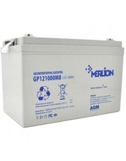 Батарея до ДБЖ Merlion 12V 100Ah (GP121000M8)