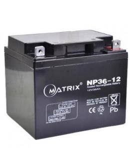 Батарея до ДБЖ Matrix 12V 36AH (NP36-12)