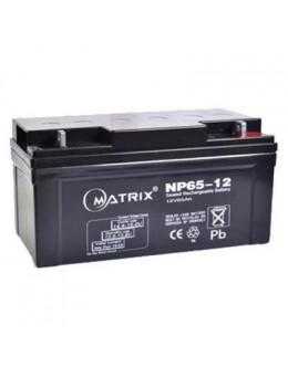 Батарея до ДБЖ Matrix 12V 65AH (NP65-12)