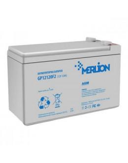 Батарея до ДБЖ Merlion 12V-12Ah PREMIUM (GP12120F2PREMIUM)