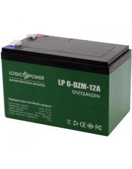 Батарея до ДБЖ LogicPower 12В 12 Ач (6-DZM-12) (3536)