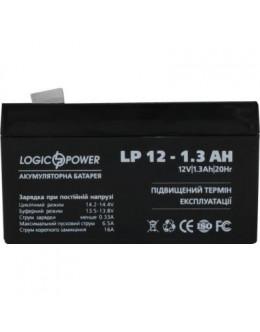 Батарея до ДБЖ LogicPower LPM 12В 1.3 Ач (4131)