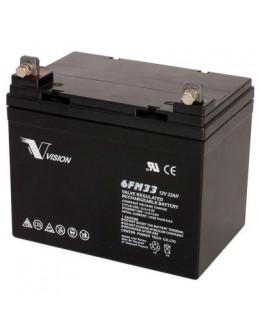 Батарея до ДБЖ Vision FM 12V 33Ah (6FM33E-X)