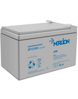 Батарея до ДБЖ Merlion 12V-12Ah (GP12120F2)