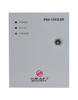 Блок живлення для систем відеоспостереження Kraft Energy PSU-1203LED
