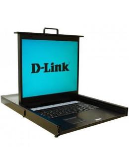 Комутатор KVM D-Link DKVM-IP16LCD