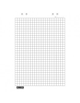 Папір для фліпчарта BUROMAX 64х90, 20 sheets., square (BM.2297)