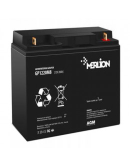 Батарея до ДБЖ Merlion 12V-20Ah (GP12200M5)