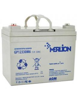 Батарея до ДБЖ Merlion 12V-33Ah (GP12330M6)
