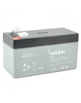 Батарея до ДБЖ Merlion 12V-1.3Ah (GP1213F1)