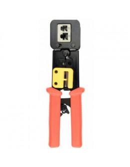 Інструмент Cablexpert RJ45/RJ12/RJ11, обрізає при обжимці (T-WC-05)