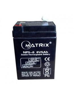 Батарея до ДБЖ Matrix 6V 5AH (NP5-6)
