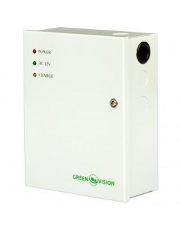 Блок живлення для систем відеоспостереження GreenVision GV-001-UPS-A-1201-3A (5456)