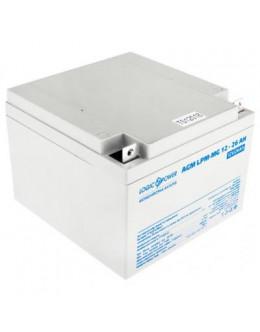 Батарея до ДБЖ LogicPower LPM MG 12В 26Ач (6557)