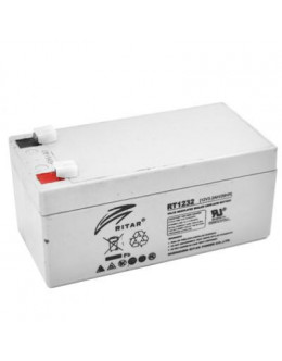 Батарея до ДБЖ Ritar AGM RT1232, 12V-3.2Ah (RT1232)