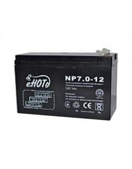 Батарея до ДБЖ Enot 12В 7 Ач (NP7.0-12)
