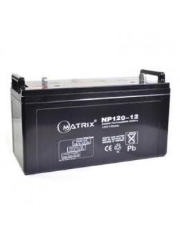 Батарея до ДБЖ Matrix 12V 120AH (NP120-12)