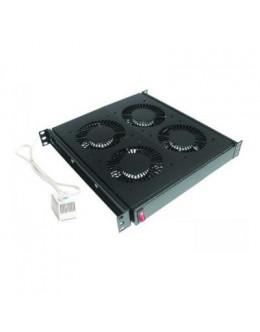 Вентиляторний модуль Conteg 4 вент. c термостатом (DP-VEN-04-H)