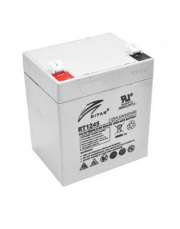 Батарея до ДБЖ Ritar AGM RT1245, 12V-4.5Ah (RT1245)