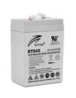 Батарея до ДБЖ Ritar AGM RT645, 6V-4Ah (RT640)