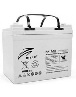 Батарея до ДБЖ Ritar AGM RA12-33, 12V-33Ah (RA12-33)