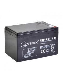 Батарея до ДБЖ Matrix 12V 12AH (NP12_12)