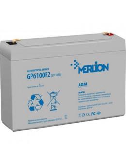 Батарея до ДБЖ Merlion 6V-10Ah (GP6100F2)