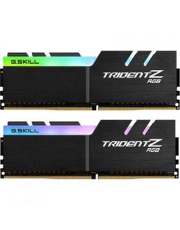 Модуль пам'яті для комп'ютера DDR 64GB (2x32GB) 3200 MHz Trident Z RGB G.Skill (F4-3200C14D-64GTZR)