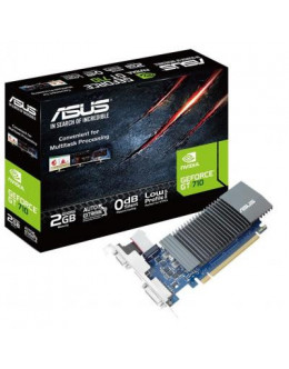 Відеокарта ASUS GeForce GT710 2048Mb Silent (GT710-SL-2GD5)